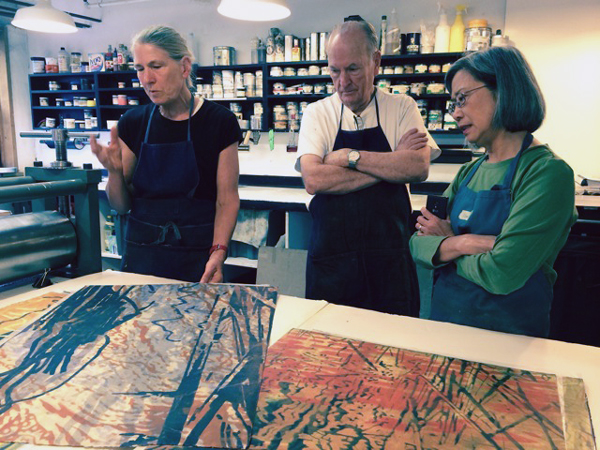 Workshop: Dynamic Process – Exploring the Limits with Akua Inks